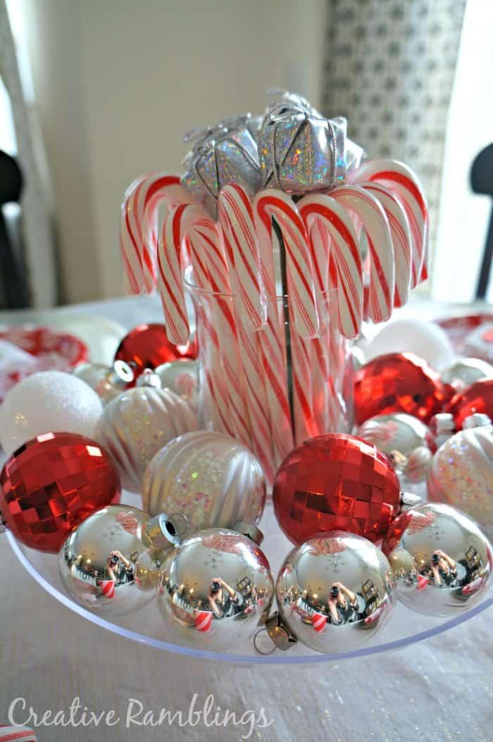 Festive and inexpensive christmas table creative ramblings